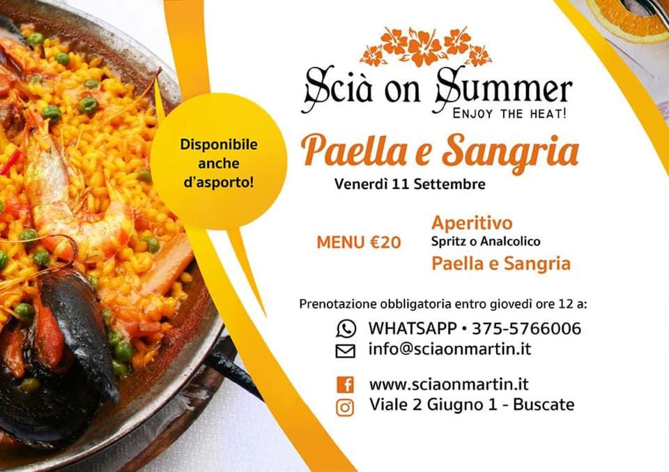 Serata Paella e Sangria